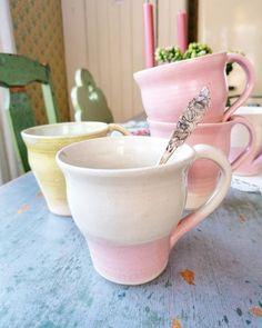 Wheelthrown pottery Pottery, Ceramics, Mugs, Tableware, Vintage, Ceramica, Ceramica, Dinnerware, Pottery Marks