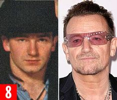 Bono: Star philanthropist and businessman, the U2 frontman, 54, is worth £514 million afte...
