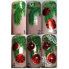 Holiday Nail Art, Holiday Decor, Christmas Nails, Christmas Ornaments, Merry Christmas, Pics Art, Winter Nails, Pretty Nails, Diy