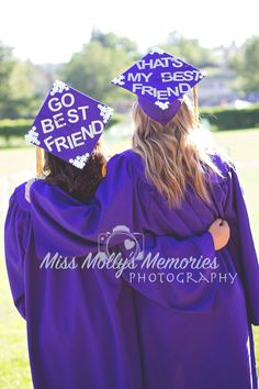 Best friend graduation cap