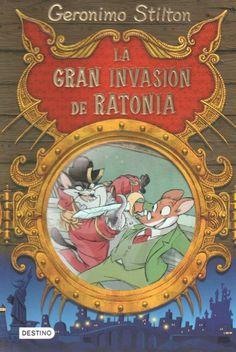 ¡¡¡Los gatos quieren invadir Ratonia,la isla de los ratones!!!Gerónimo Stilton y sus amigos recorrerán muchos peligros y aventuras salvando Ratonia.
