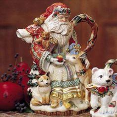 Enchanted Holiday Teapot
