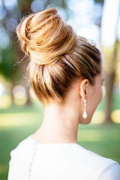 Elegant Bridal Bun - Hairstyles and Beauty Tips