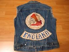 Vintage 1970s LOST MY @#* in NEVADA  Motorcycle Biker Vest Patch sew on