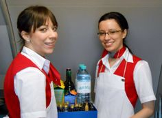 Austrian Airlines cabin crew #austrian #cabincrew