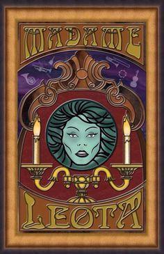 *MADAME LEOTA ~ The Haunted Mansion, 2003