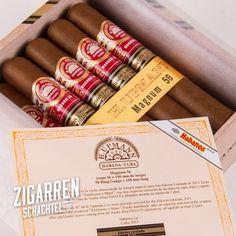 H. Upmann Magnum 56 Edicion Limitada 2015 Eine streng limitierte Havanna Zigarre, die jeden Zigarrenraucher glücklich macht.