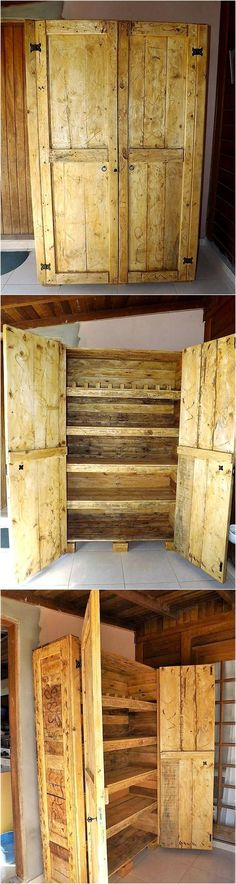 55 Repurposed Wood Pallet Closet DIY Ideas: It would be not wrong to say that upcycling the old and wasted material of your home into some appealing and Gypsy Home Decor, India Home Decor, Home Decor Online, Home Decor Store, Cheap Home Decor, Wooden Pallet Crafts, Wooden Pallet Furniture, Wooden Pallets, Pallet Projects