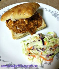 Slow Cooker Easy Beer and BBQ Chicken