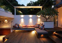 #iluminacion #exterior checa más ideas #iluminatuespacio.com
