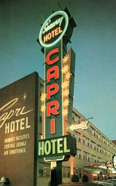Hotel Capri, Montreal, PQ | Flickr - Photo Sharing!