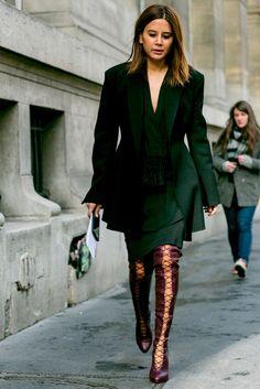 Из Парижа с любовью: 300 cтритстайл-образов гостей Недели моды