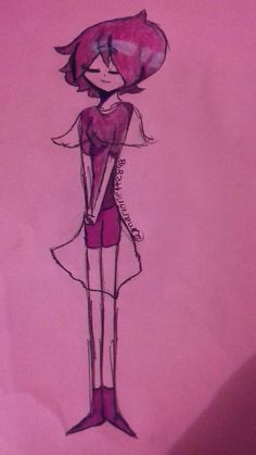 La perla de diamante rosa... Que tal me salió?! :D me esforse mucho para hacerlo :3