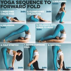 ~~YOGA SEQUENCE TO FORWARD FOLD~~
