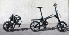 Nouveau vélo pliant à assistance électrique, le eF01