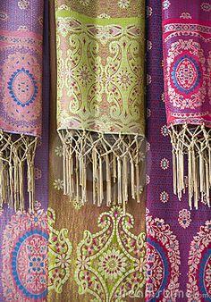 Balinese batik sarongs, Indonesia