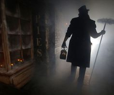 The New London Dungeons.. he dungeons which have existed in London for over 38 years, tell the grusome tales of London life through its most vile characters including Sweeney Todd & Mrs Lovett, Jack the Ripper, Judge Samuel Spanker and The Gong Farmer who could do with a little Lynx effect!