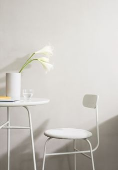 Afteroom Counter Chair, Afteroom Counter Table, Stackable Glass,