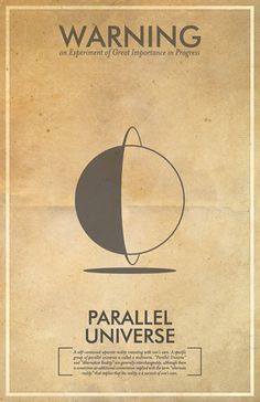 Fringe science posters - Parallel Universe
