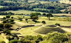 The monumental architecture seen at Mexico's Guachimontones archeological site is based on concentric circles, a style no other civilization on