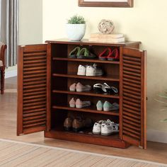 Furniture of America Delza 5-shelf Shoe Cabinet - Overstock™ Shopping - Great Deals on Dressers 294
