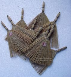Wicca 1 X Witches' Altar Besom Broom Ready To Decorate Wicca Pagan Witch Goth Pagan Witch, Witches, Magic Shop, Larp, Wicca, Witchcraft, My Ebay, Goth, Lifestyle
