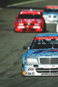 DTM mercedes & alfa romeo 155 2.5 V6 1993
