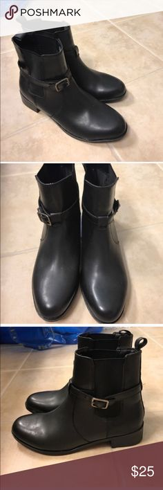 Croft & Barrow black ankle boots size 8.5 Croft & Barrow Size 8.5 black ankle boots croft & barrow Shoes Ankle Boots & Booties