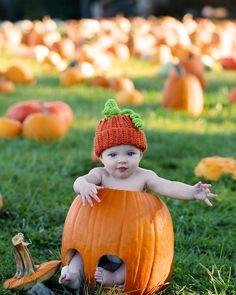 Momma's little pumpkin!