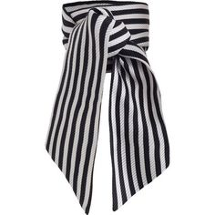 ZIMMERMANN Wrap Scarf ($55) ❤ liked on Polyvore featuring accessories, scarves, wrap shawl, striped scarves, wrap scarves and zimmermann