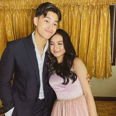 Kyle Echarri is Francine Diaz's escort for her Prom. Filipino, Squad, Sequin Skirt, February, Angels, Ships, Prom, In This Moment, Babies