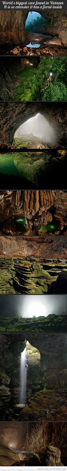 World's Biggest Cave Found In Vietnam