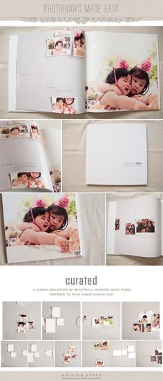 Normally I love my photobooks simple but this is stunning!