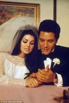 Elvis Presley wedding day