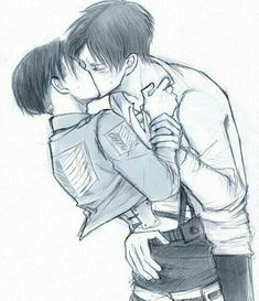 Read 94 from the story Ereri pics yaoi by with reads. Ereri, Attack On Titan Ships, Attack On Titan Levi, Levi Ackerman, Eren Y Levi, Fandom, Cute Gay, Anime Ships, Anime Couples