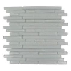 Splashback Tile, Temple Floes 12 in. x 12 in. x 8 mm Glass Mosaic Floor and Wall Tile, TEMPLE FLOES at The Home Depot - Mobile