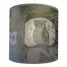 Lush Designs | owl lampshade