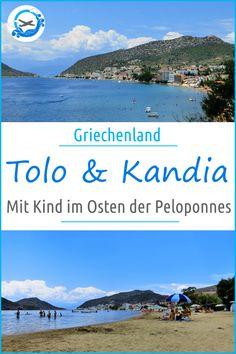 Die Orte Tolo und Kandia auf der Halbinsel Peloponnes in Griechenland bieten Reisenden mit und ohne Kind viele interessante Aktivitäten. Mehr dazu in unserem Reisebericht: