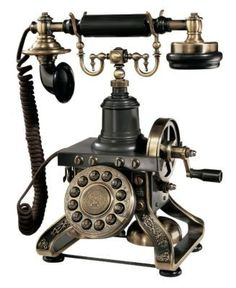 really old phone - crank that baby