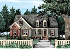 1656 sf, 717 bonus, 4 bed, 3 bath, River Hill - Home Plans and House Plans by Frank Betz Associates