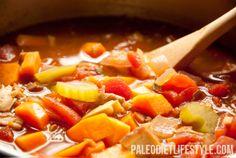 Winter Vegetable Soup | Paleo Diet Lifestyle