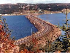The world-famous Canso Causeway