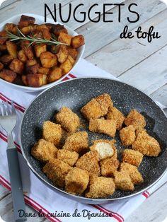 Nuggets de tofu {recette végane}