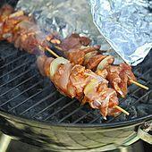 Dietetyczne szaszłyki drobiowe z grilla