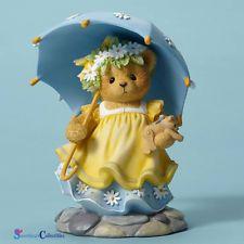 Cherished Teddies Bear With Umbrella New 2016