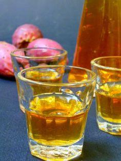 liquore di fichi d'india / liker fragkosyko