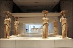 Acropolis museum Greek Culture, Art Museum, Greece, Statue, Lava, Events, Interiors, Spaces, Search