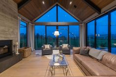 Wakatipu Basin House by Mason & Wales Architects Modern Barn House, Modern House Design, Norway House, Attic House, Garage Attic, Timber Cladding, Attic Renovation, Attic Remodel, Attic Design