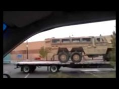 More Military Equipment Turns Up In Walmart Parking Lot, This Time In Nevada - YouTube