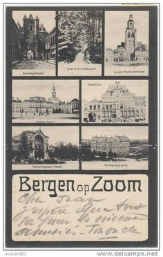 Een oude ansichtkaart.